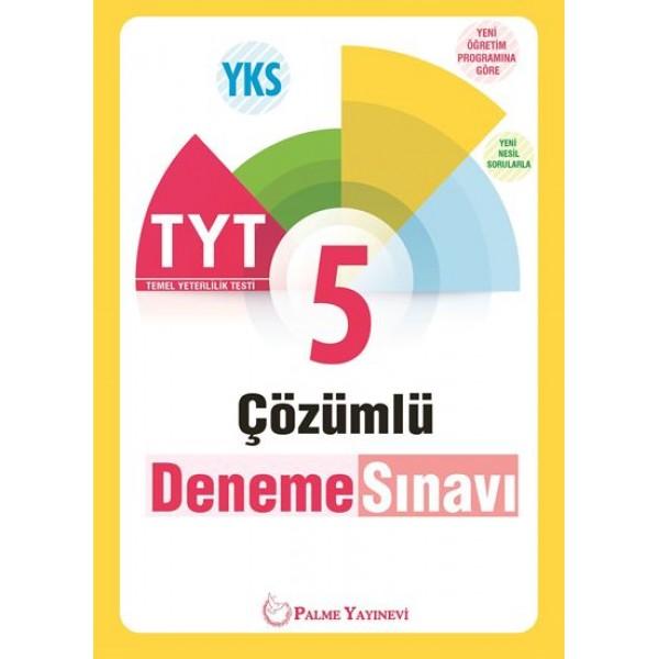 Palme YKS TYT 5 cozumlu Deneme Sınavı 1. Oturum