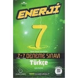 7. Sınıf Enerji Türkçe 7+7 Deneme Sınavı