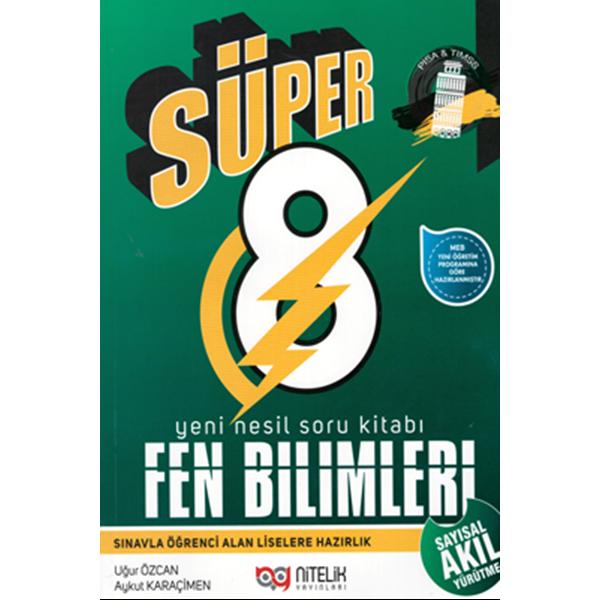 8. Sınıf Süper Fen Bilimleri Soru Kitabı Nitelik Yayınları