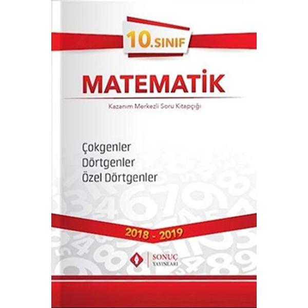 10. Sınıf Matematik Çokgenler Dörtgenler Özel Dörtgenler Kazanım Merkezi Soru Kitapçığı