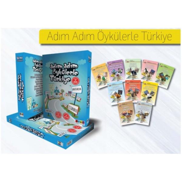 Adım Adım Öykülerle Türkiye 10 Kitap