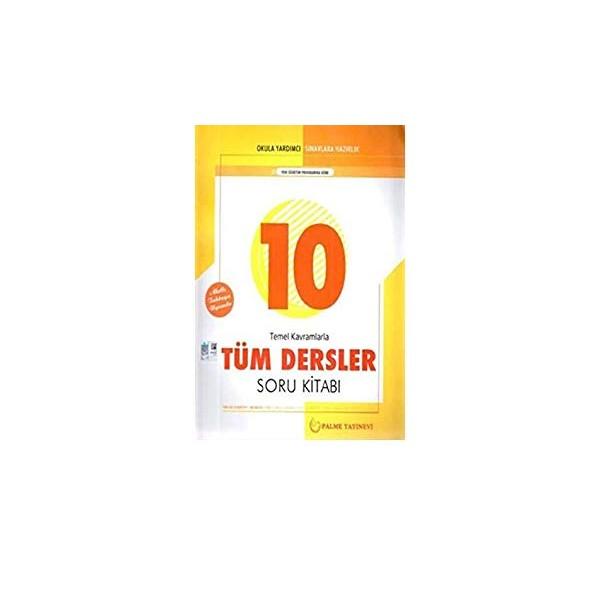 10. Sınıf Tüm Dersler Soru Kitabı