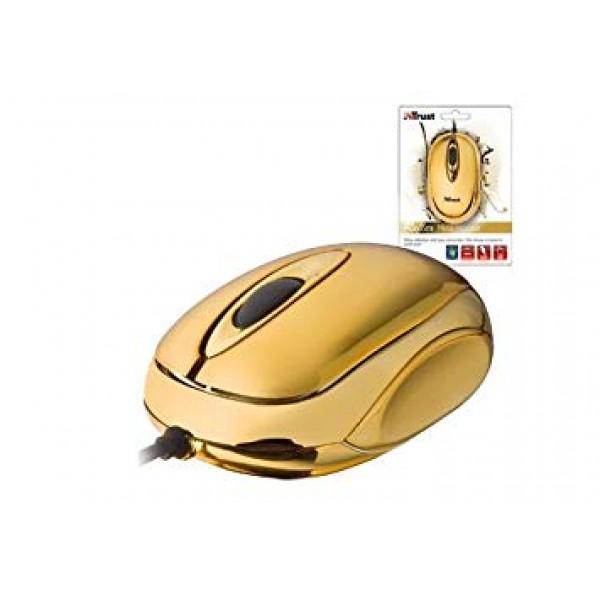 Trust RefleX Mini Optical Mouse 17157 (Gold)