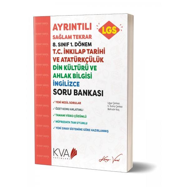 Ayrintili Tekrar İnkılap Tarihi-Din kültürü -İngilizce 1.Dönem Soru Bankasi