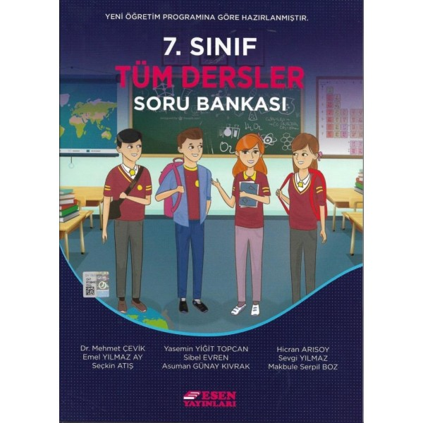 Esen 7. Sınıf Tüm Dersler Soru Bankası