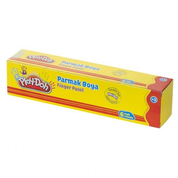 Play-Doh 6 Renk Parmak Boya Birleşik 30 Ml