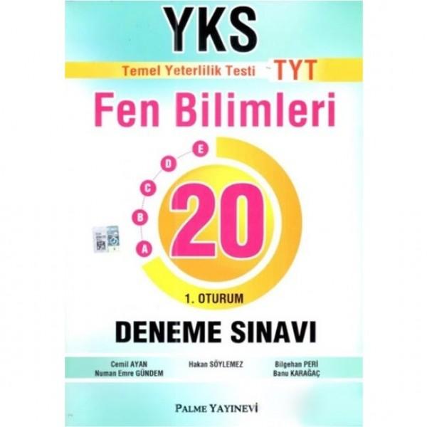 Palme Yks-Tyt Fen Bilimleri 20 Deneme Sınavı