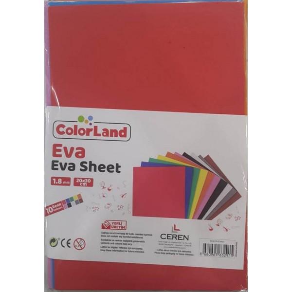 Colorland Eva 20x30 Cm