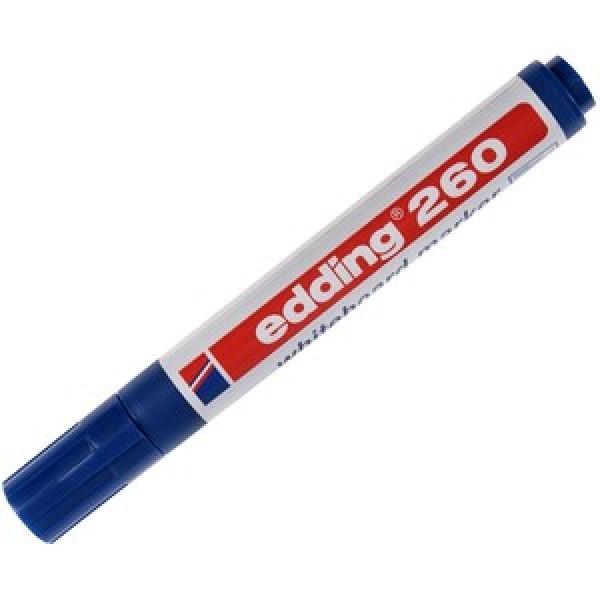 Edding Beyaz Tahta Kalemi E-260 Mavi