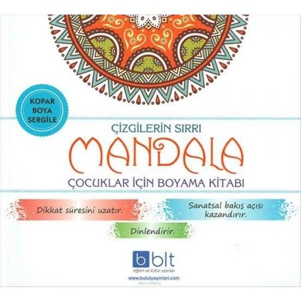 Çizgilerin Sırrı Çocuklar İçin Mandala Boyama Kitabı