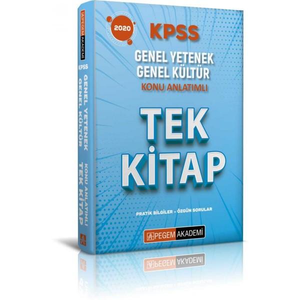 PEGEM İADESİZ KPSS Genel Yetenek Genel Kültür Konu Anlatımlı Tek Kitap