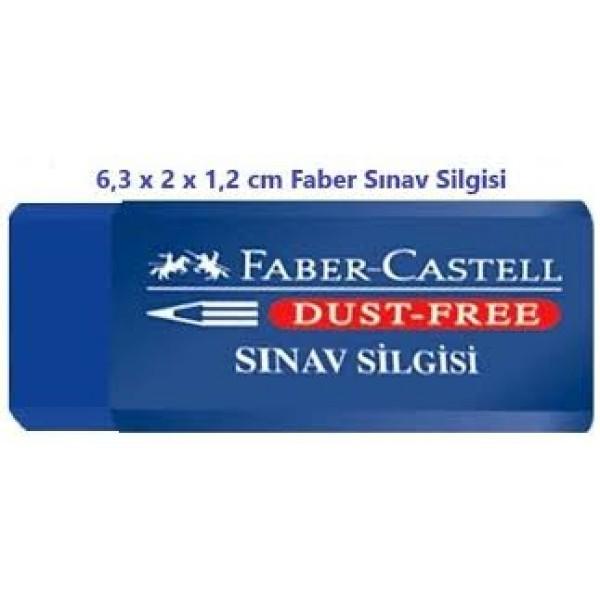 Faber Castell Büyük Boy Mavi Sınav Silgisi