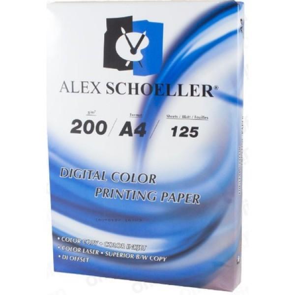 ALEX 827 FOTOKOPİ KAĞIDI A4/200GR 125 Lİ