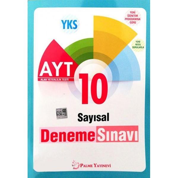 AYT Sayısal 10 Deneme Sınavı