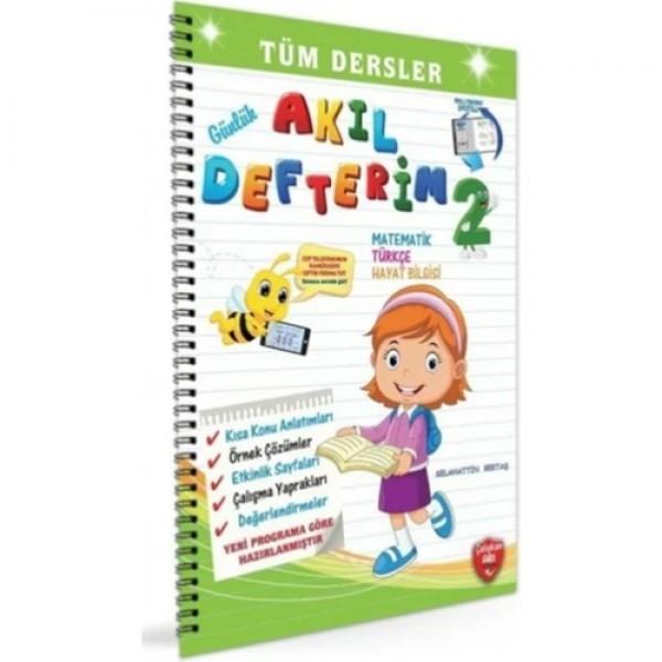 Çalışkan Arı Yayınları 2. Sınıf Günlük Akıl Defterim Tüm Dersler