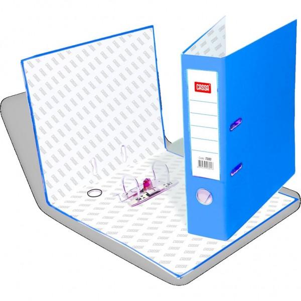Cassa Plastik Klasör Geniş Mavi Renk