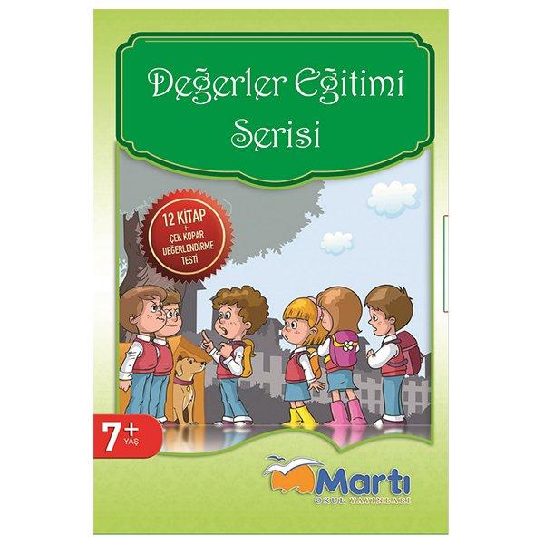 Değerler Eğitimi Serisi 12 Kitap 7+ Yaş