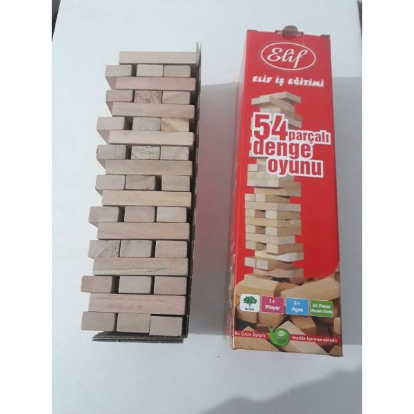 Denge Oyunu 54 Parçalı