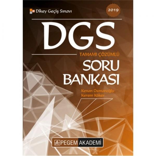 2019 DGS Tamamı Çözümlü Soru Bankası Pegem Yayınları