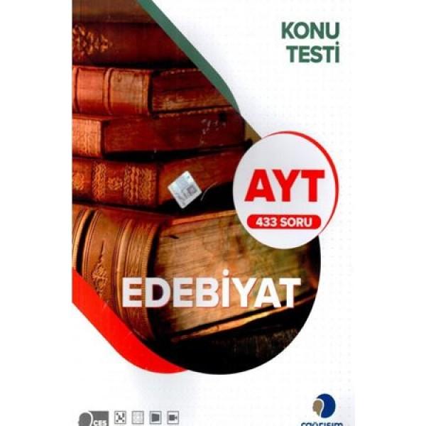 Çağrışım AYT Edebiyat 433 Soru Konu Testi Çağrışım Yayınları