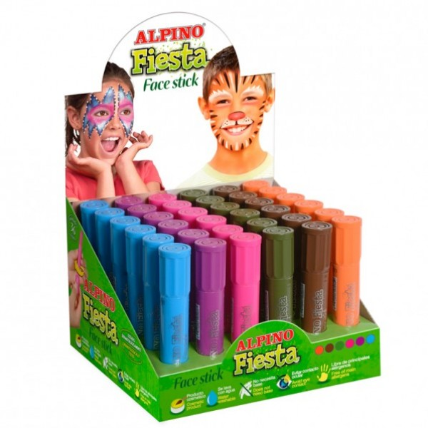 Alpino fiesta face stick Mor