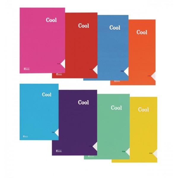 K.Color A4 80 Yp.Çizgili PP Kp.Dikişli Cool Defter