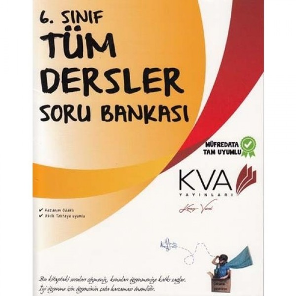 Koray Varol Akademi KVA 6. Sınıf Tüm Dersler Soru Bankası
