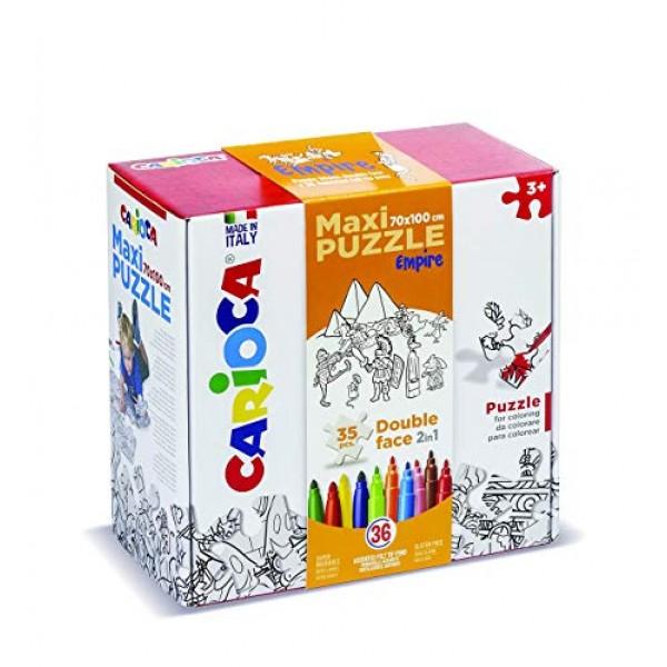 Carioca Maxi Puzzle Boyama Seti Korsanlar 42027