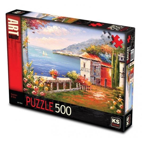KS Puzzle 500 Parça Garden Sea Jin Park