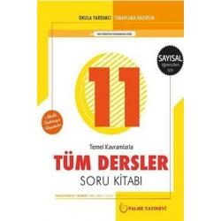 11. Sınıf Sayısal Tüm Dersler Soru Bankası Palme Yayınevi