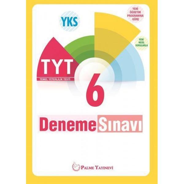 Palme Tyt 6'Lı Deneme Sınavı Yeni